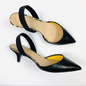 Aldo | Snakeskin Strappy Pointed Heels
